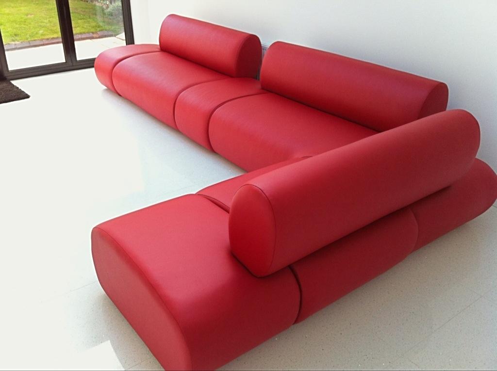 Ralvern Bespoke Red Leather unique design