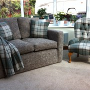 Monza two Seater sofa with Canterbury Chair