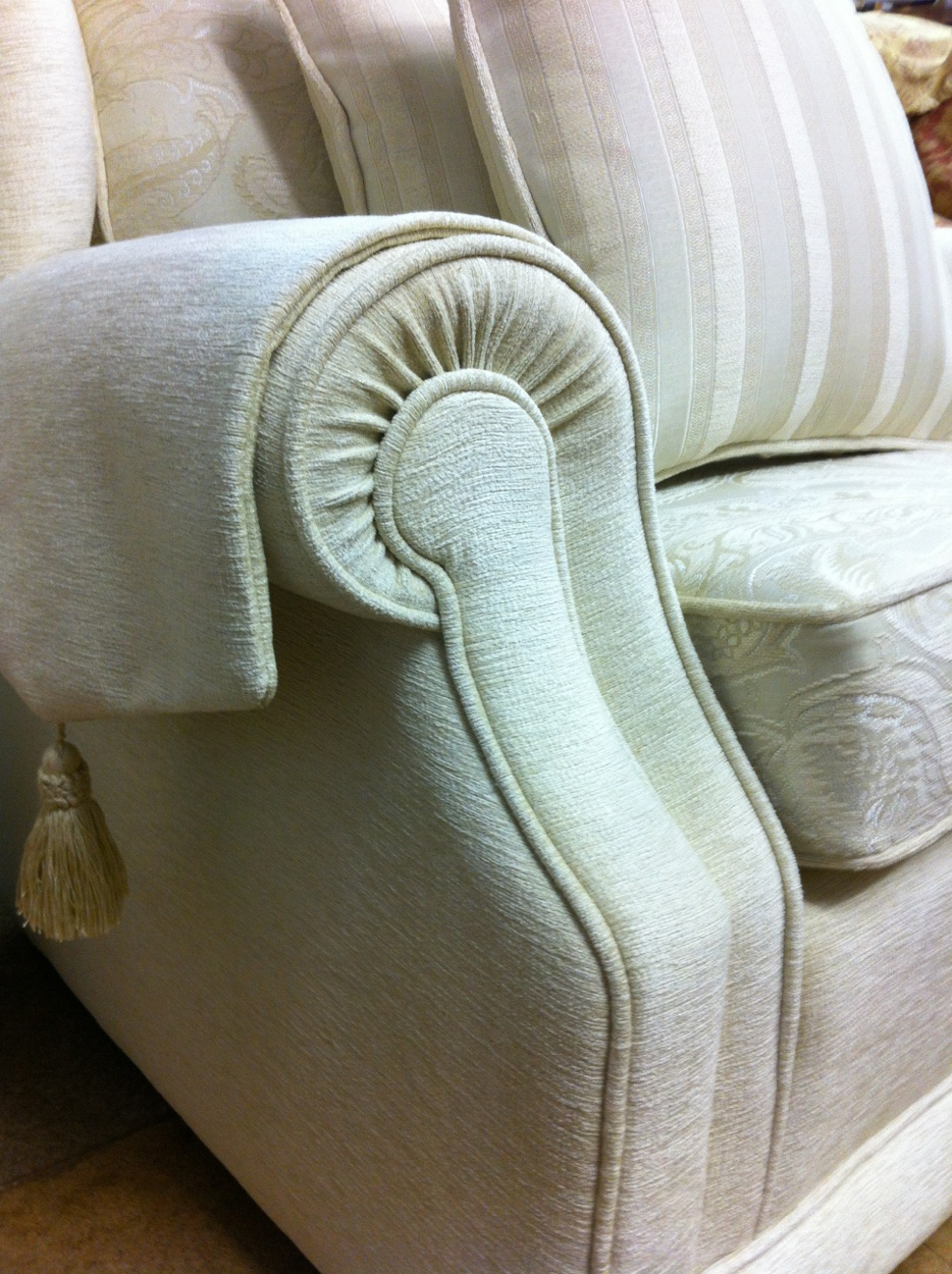 Detail of Upholstery By Recommended Upholsterers Sofa Makers Ralvern