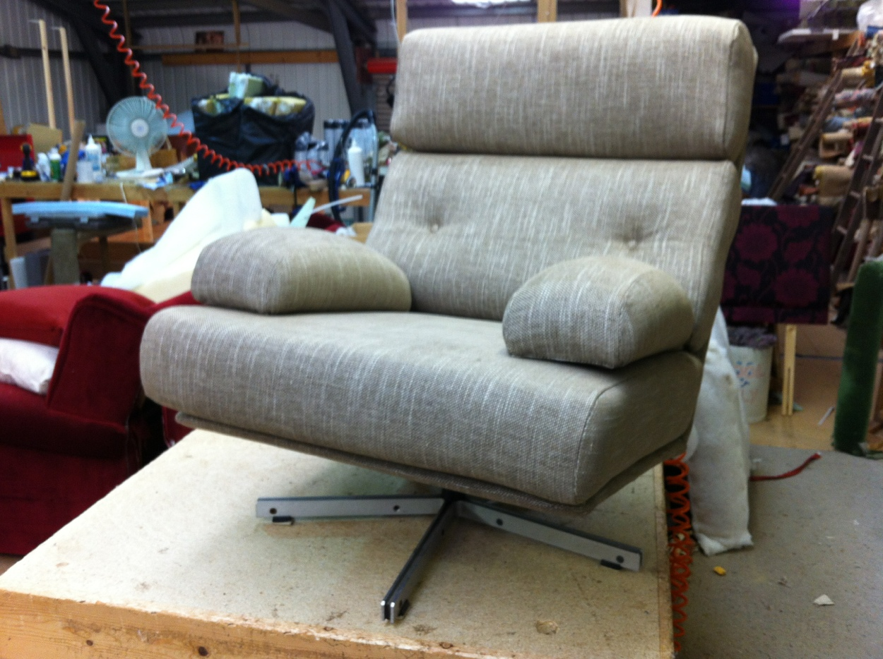 Spanish Design Re-Upholstery of this chair By Ralvern.
