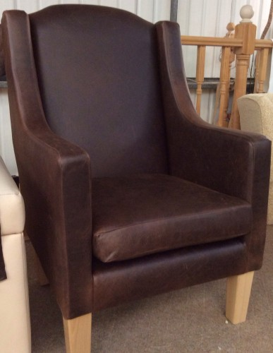 Leather Stratford Chair