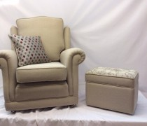 Ralvern Ascot Chair with Footstool
