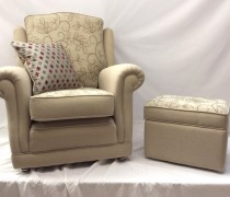 Ascot Chair & Footstool
