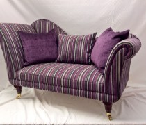 Small chaise lounge