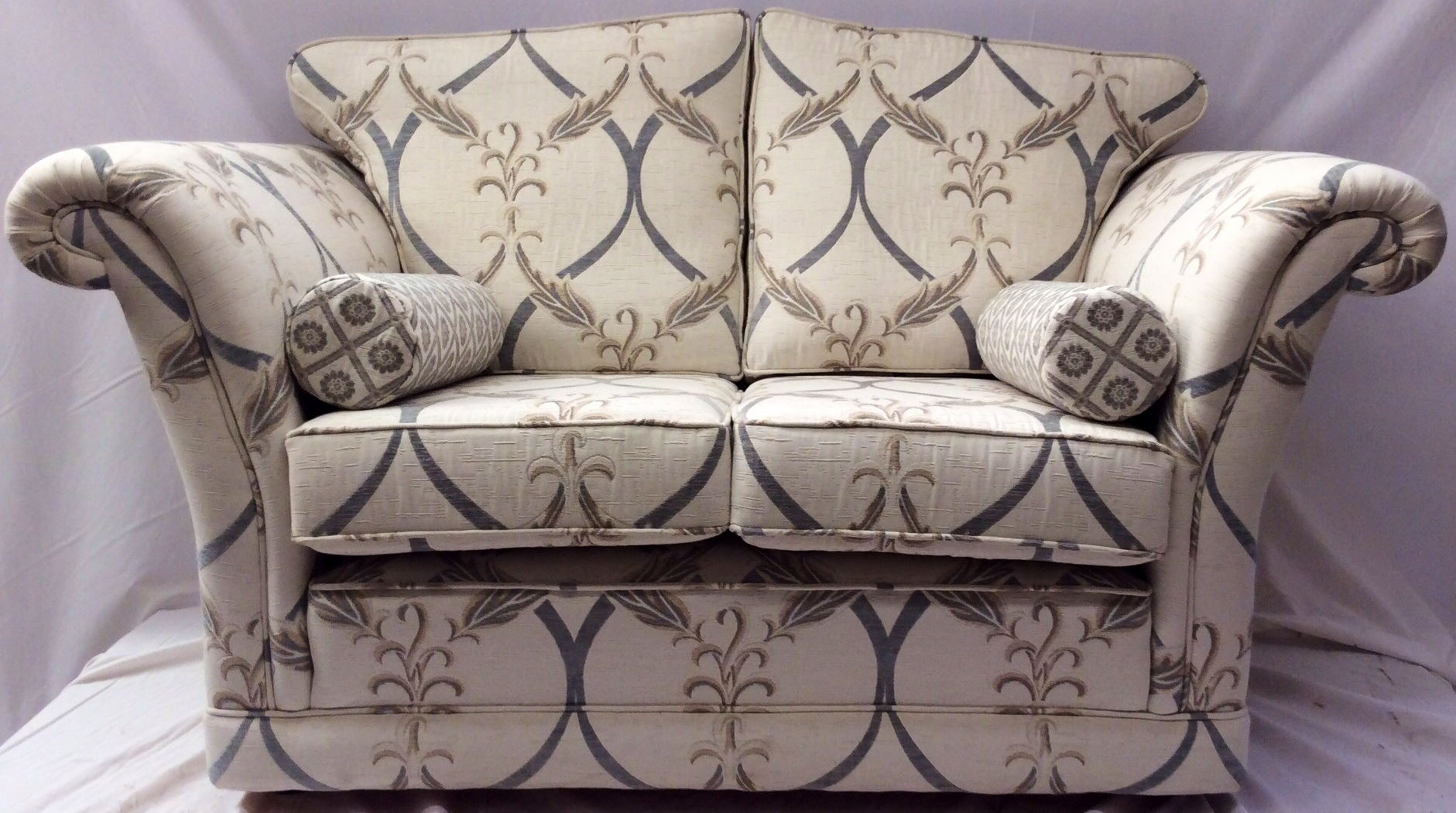The Empress Design Two Seater Sofa by Ralvern Upholstery