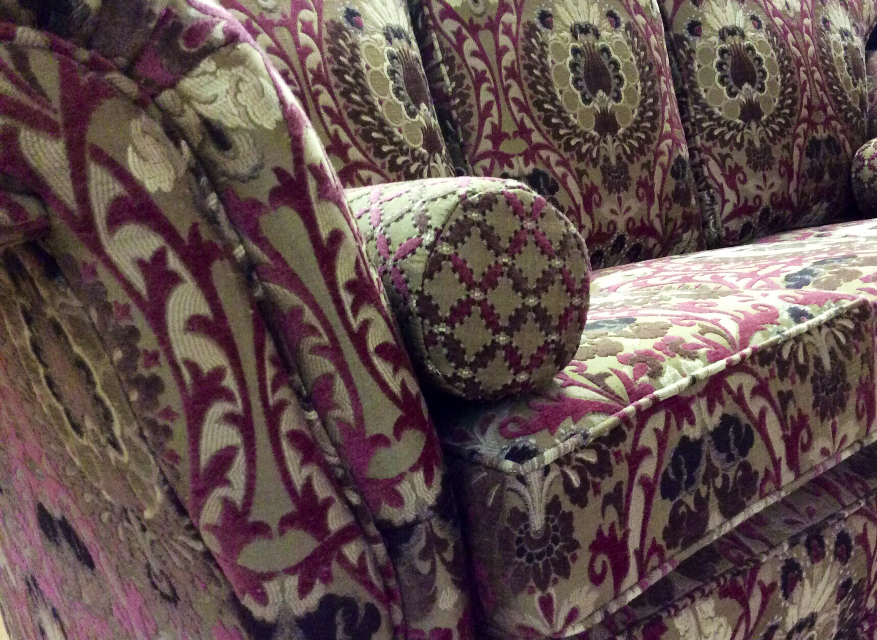 The Empress Design by Ralvern Upholstery in a Jim Dickens Fabric