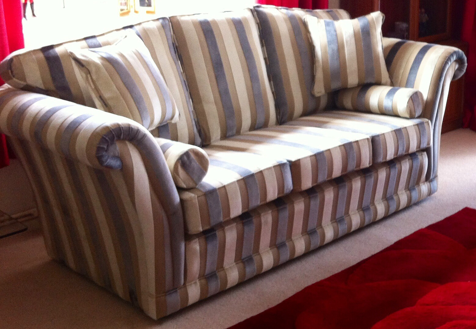 The Empress Design Three Seater Settee by Ralvern Upholstery