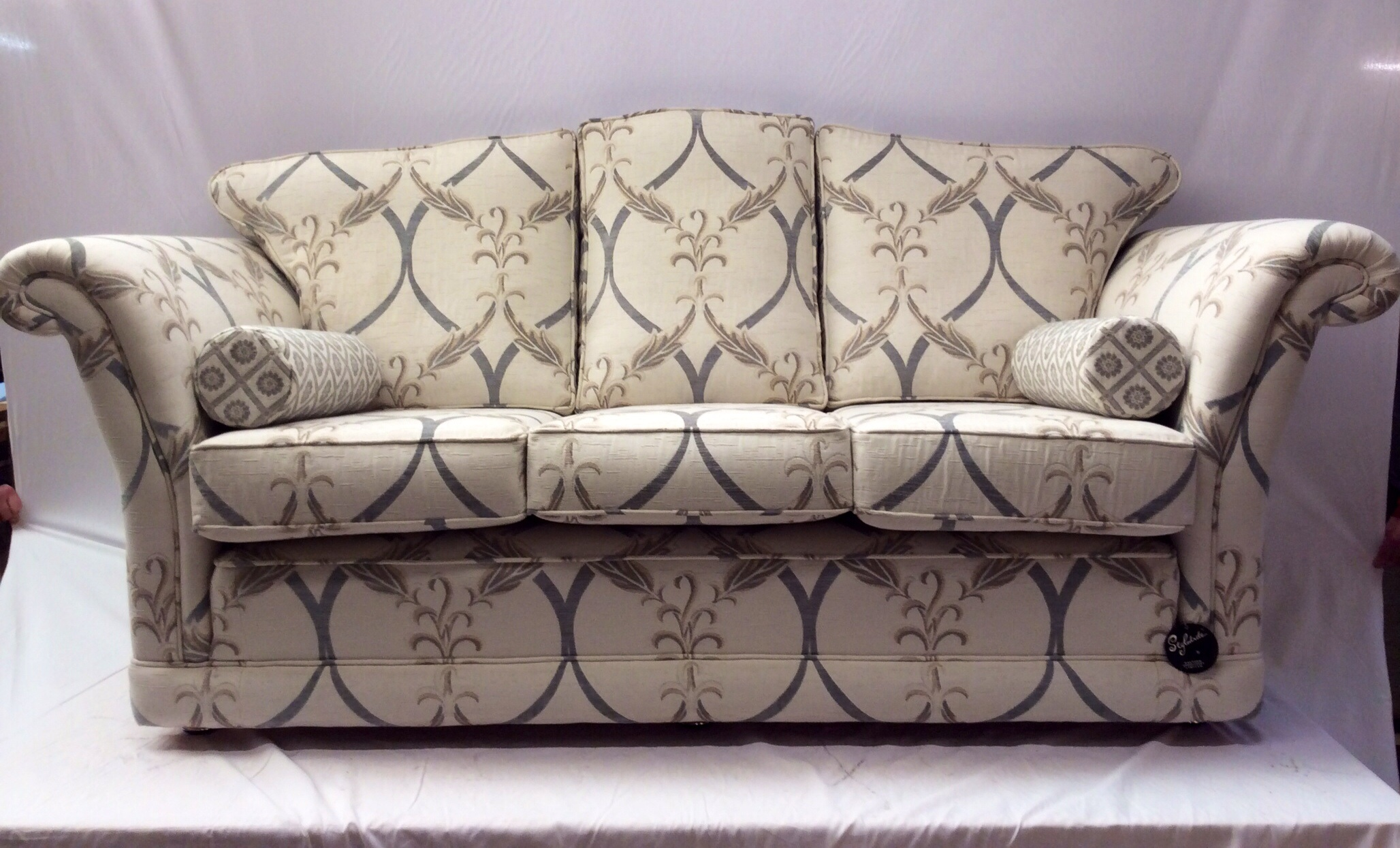 The Empress Design Three Seater Sofa by Ralvern Upholstery