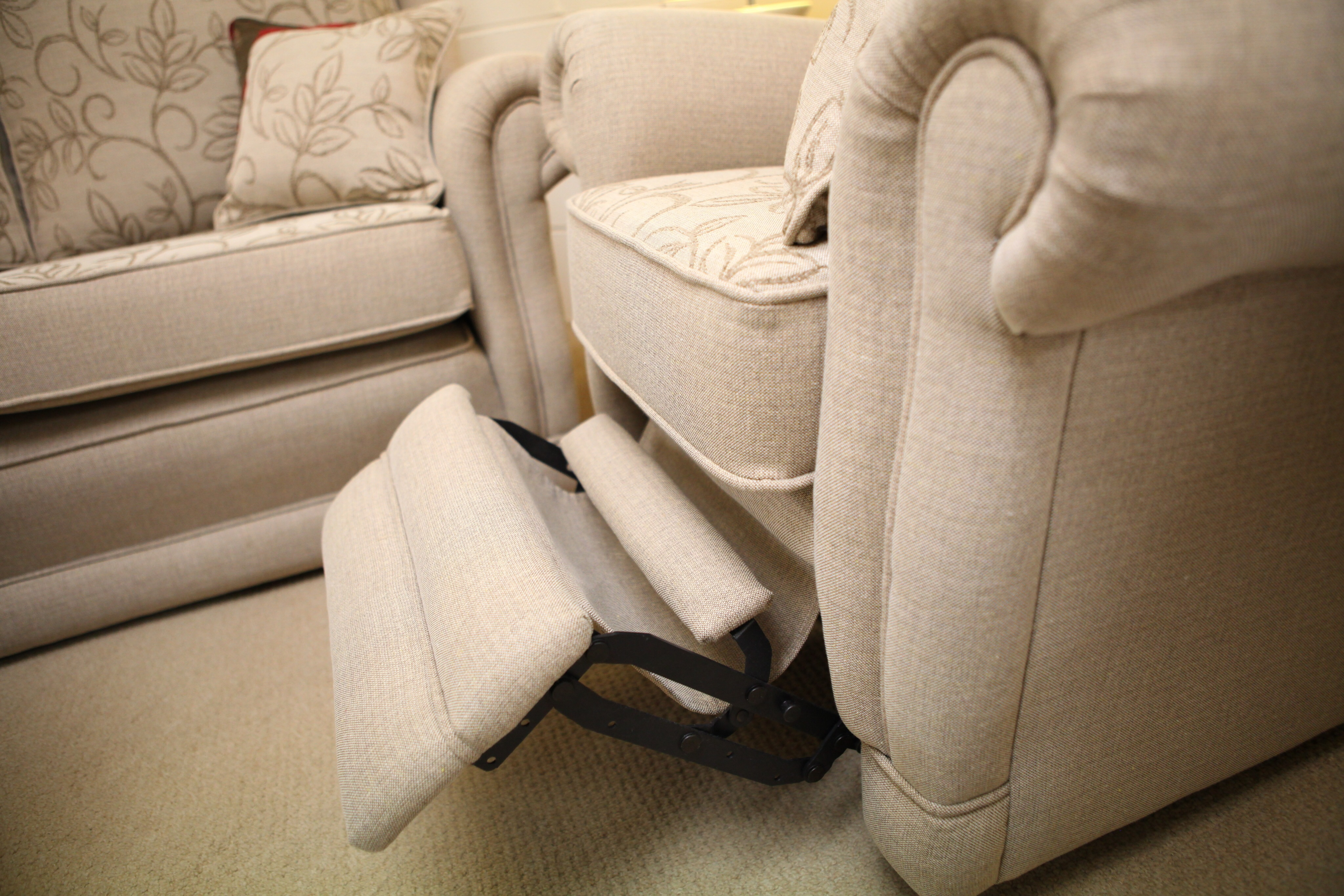 We also make our Ascot Design in a Recliner either manual or electric