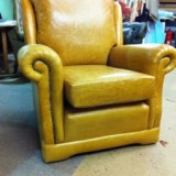 Whiskey leather chair