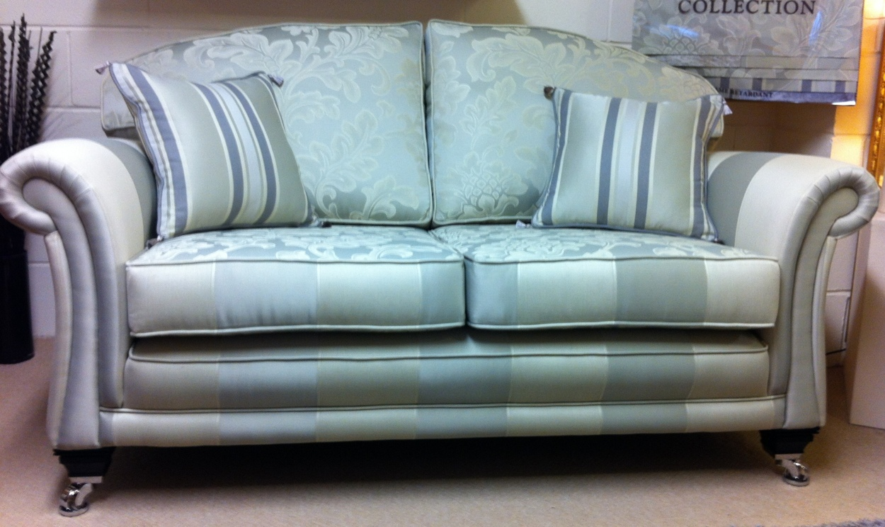 Ralvern Cannock Sofa Makers Paris Style Sofa In Showroom Gallery On Chrome Castors