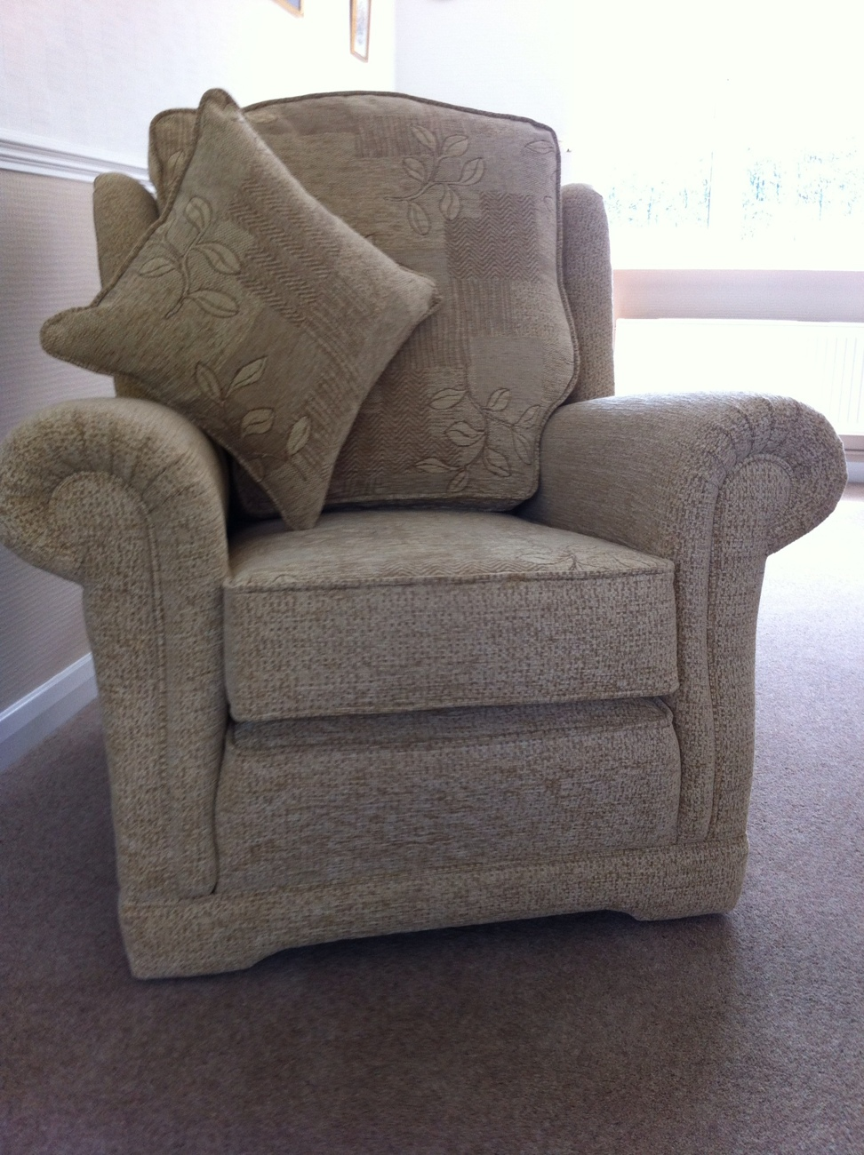 Ascot designer classic wing chair high back