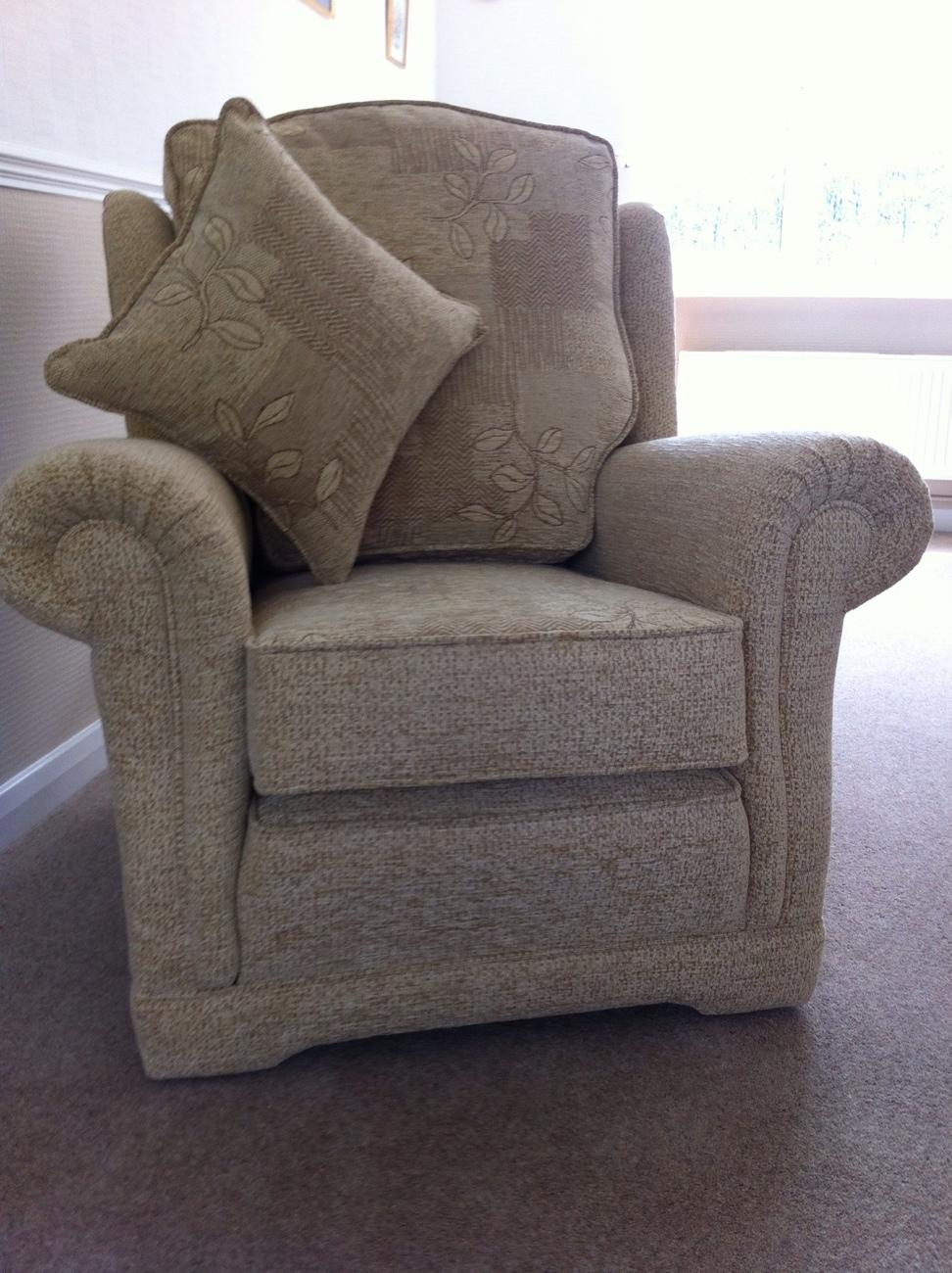 Ralvern Ascot chair Draylon chenille High Quality Upholstery Cannock Staffordshire Midlands Birmingham