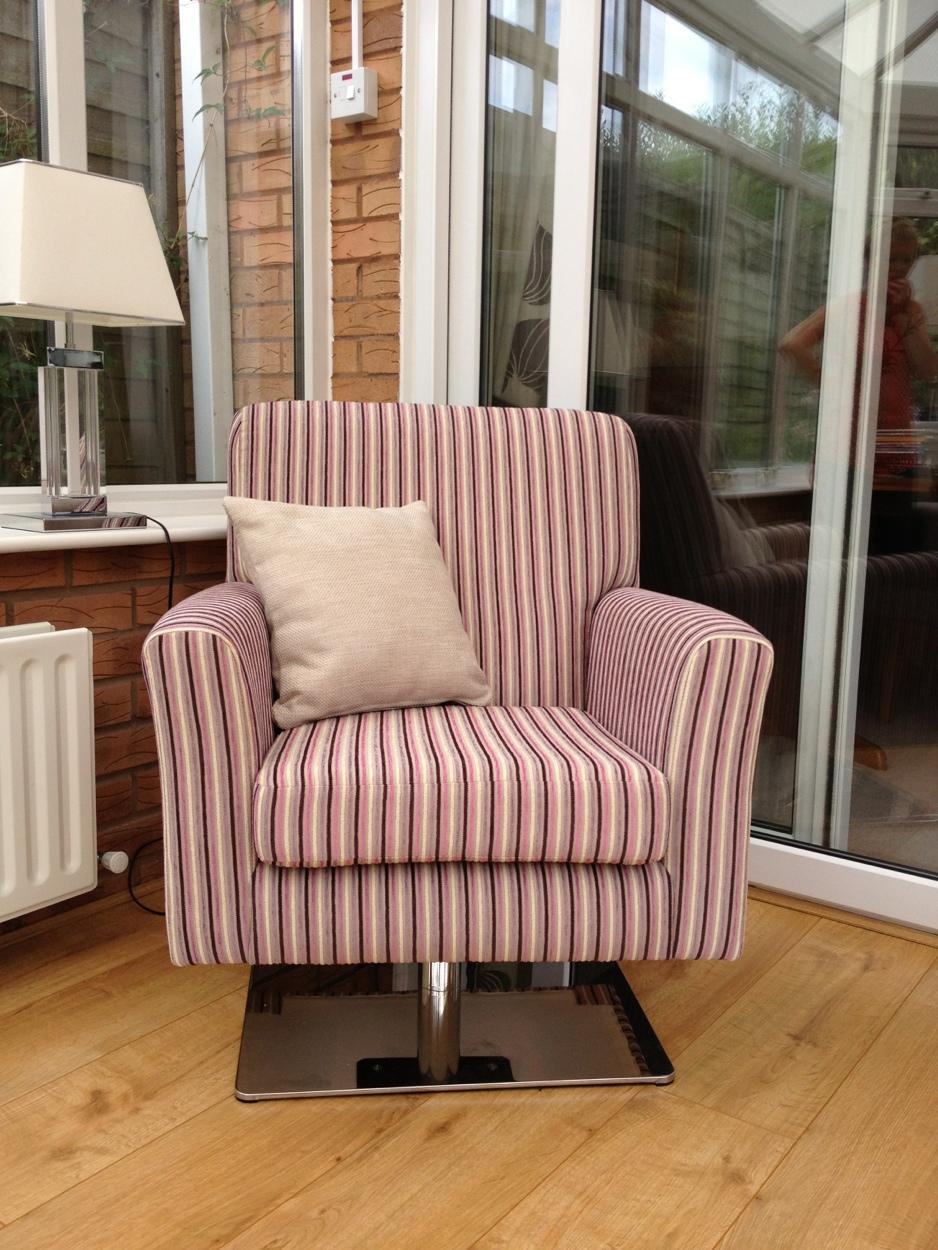 Swivel chair Upholstery Cannock Ralvern Ltd