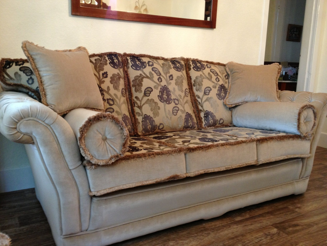 Ralvrn Ltd Empress Design Deep Buttoned Arms Upholstery