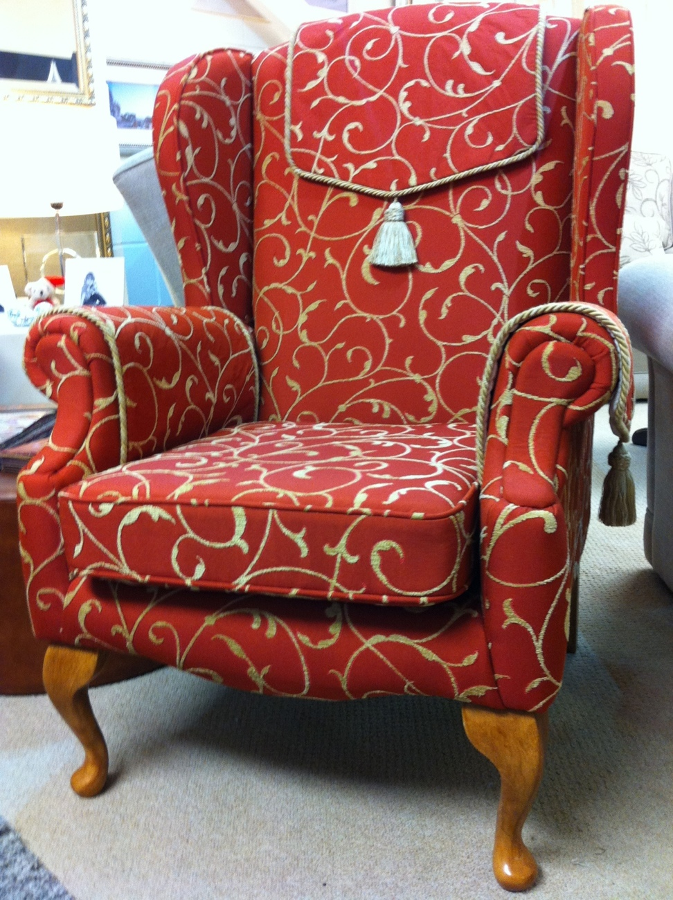 A1 Jim Dickens Fabric Chair Ralvern Sofa And Chairs Lounge Designers Cannock Staffordshire