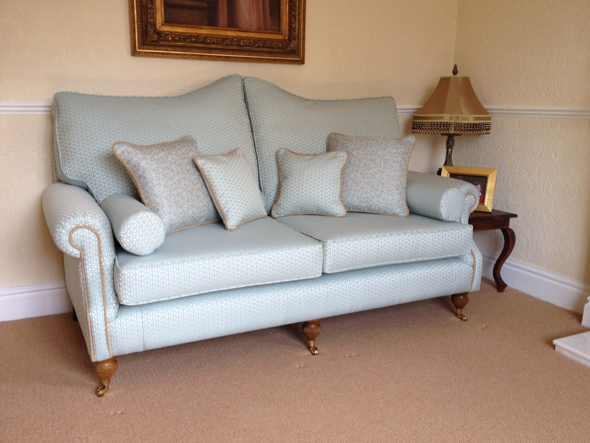 Reupholstery in  Blendworth Fabrics