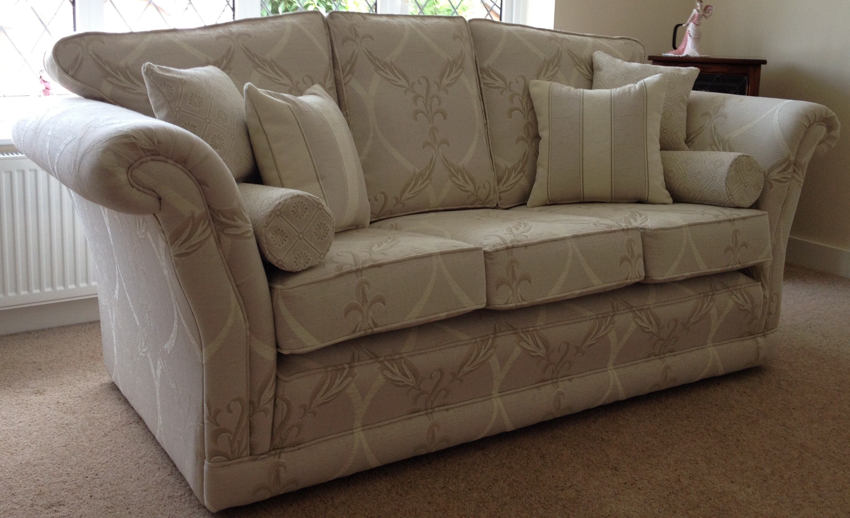 The Empress Design by Ralvern Upholstery Three Seater Sofa