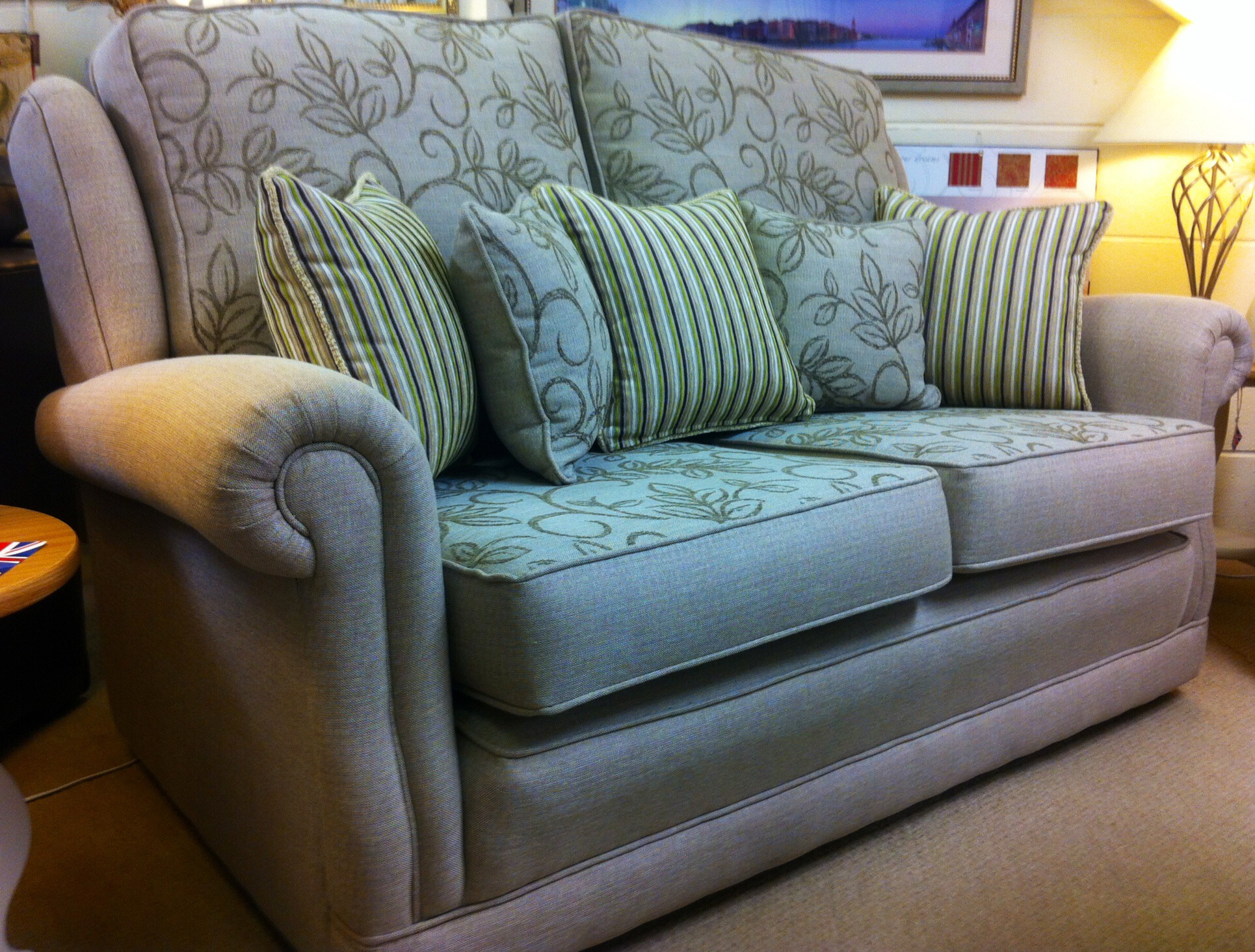 The Ascot Design Two and a Half Seater Sofa made by Ralvern Upholstery Cannock